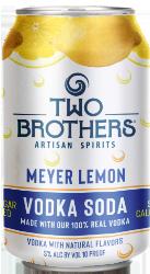 Meyer Lemon Vodka Soda